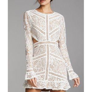 NWT For Love & Lemons Emerie Cutout Dress